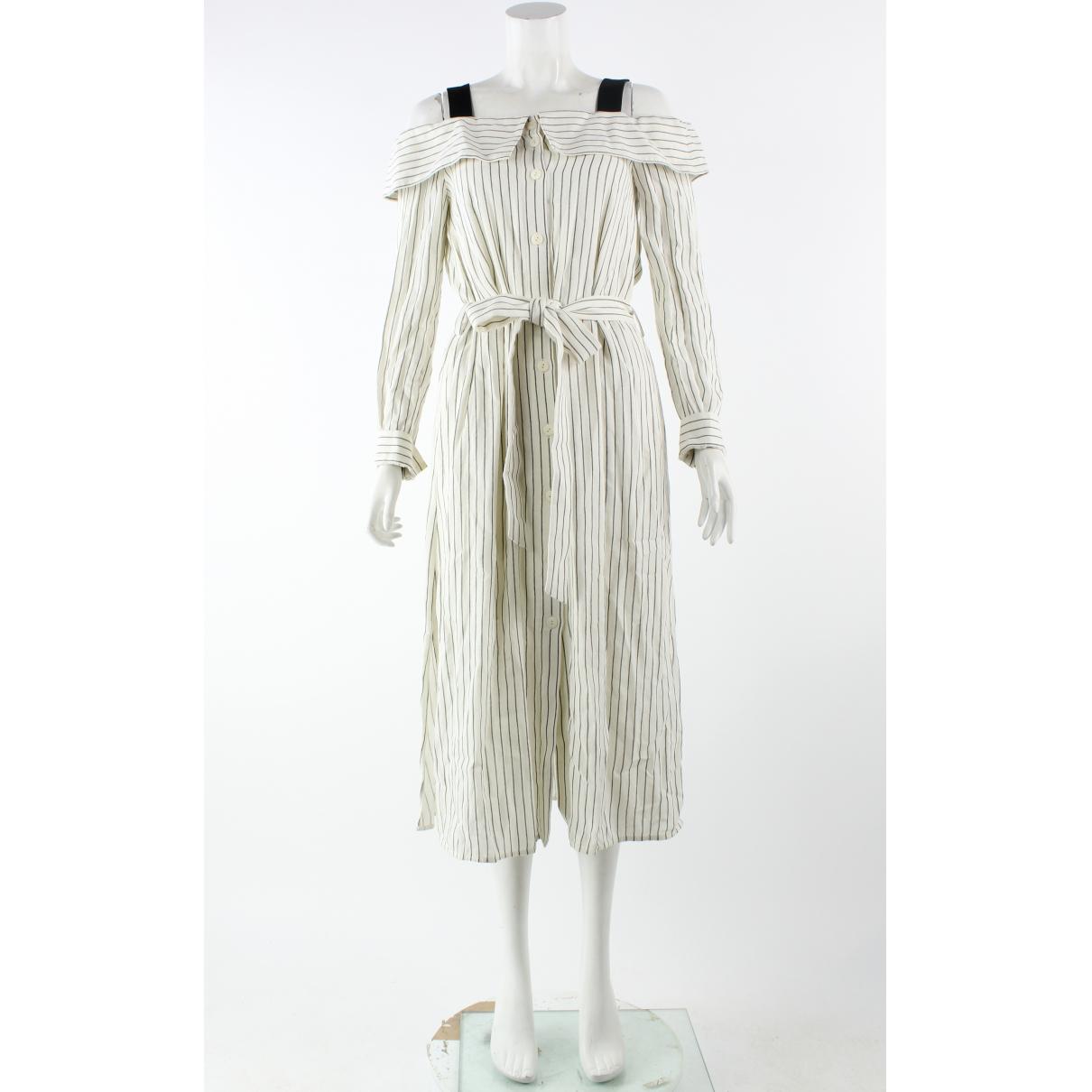 Tibi \N Kleid in  Orange Viskose