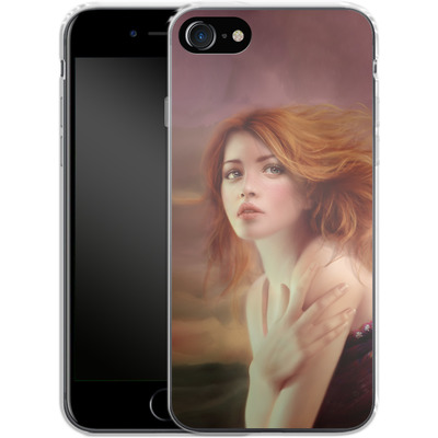 Apple iPhone 7 Silikon Handyhuelle - Melanie Delon - Hope von TATE and CO