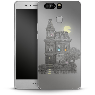 Huawei P9 Silikon Handyhuelle - Haunted By The 80s von Terry Fan