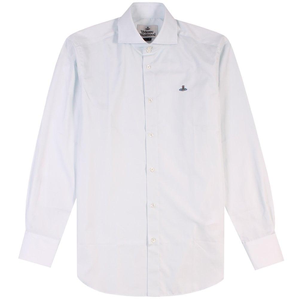 Vivienne Westwood Two Button Krall Shirt Light Blue  Colour: LIGHT BLU
