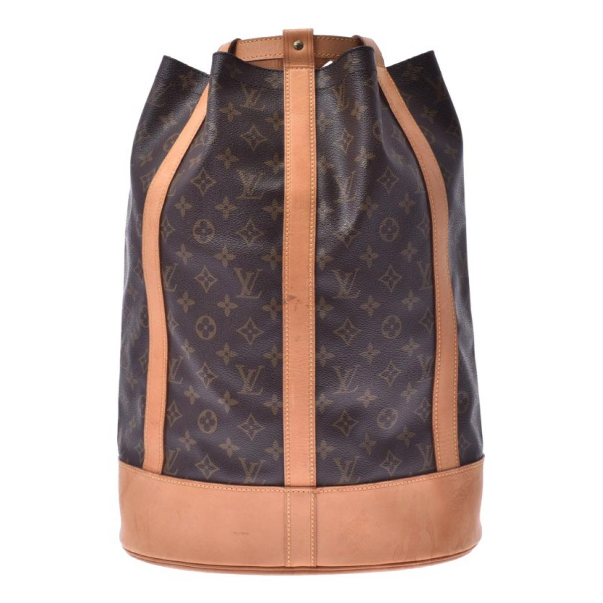 Mochila Randonnee de Lona Louis Vuitton