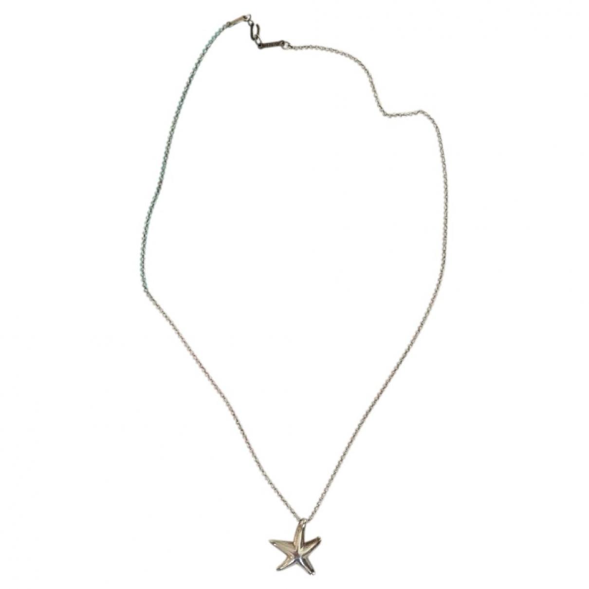 Tiffany & Co Elsa Peretti  Kette in  Silber Silber