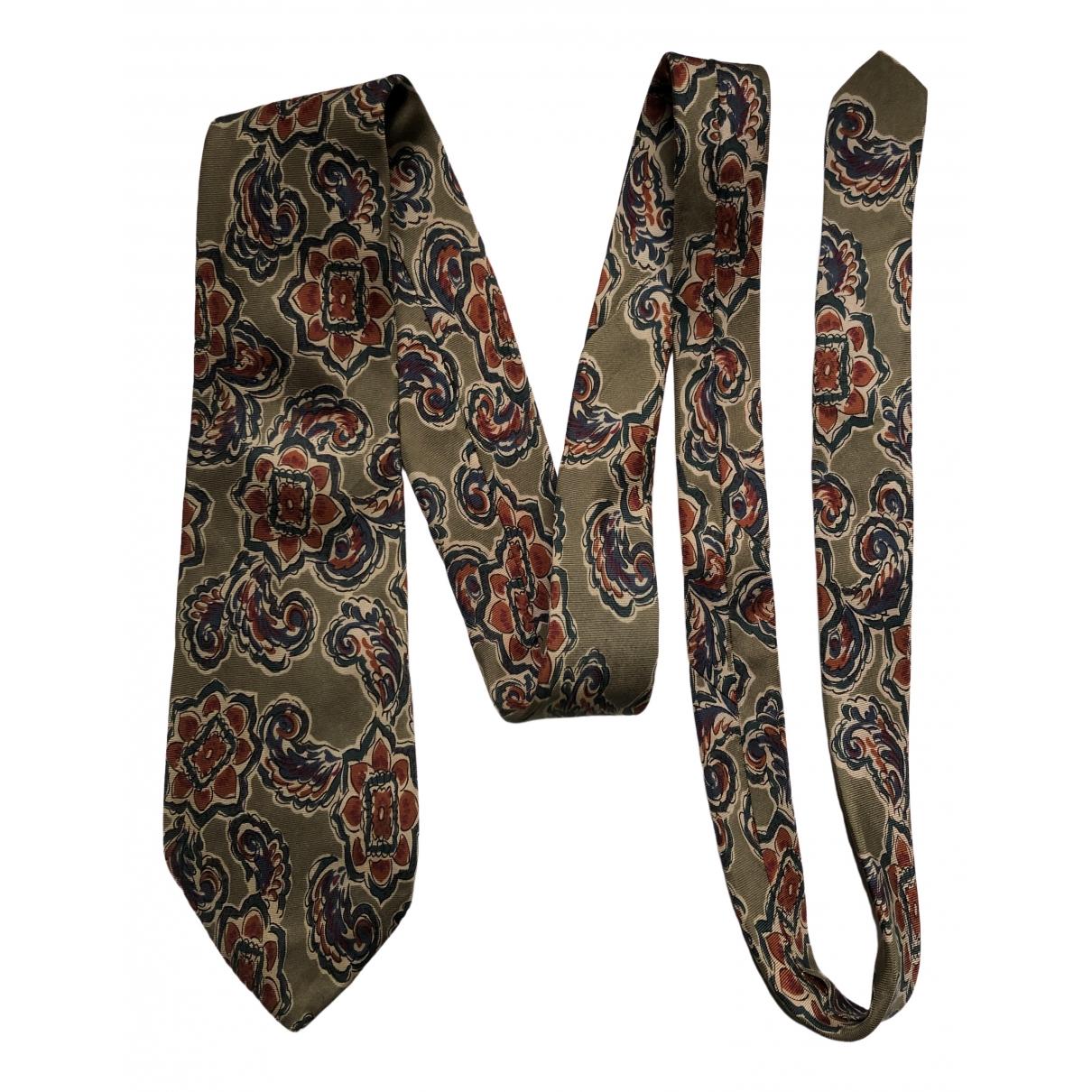 Dior - Cravates   pour homme en soie - marron
