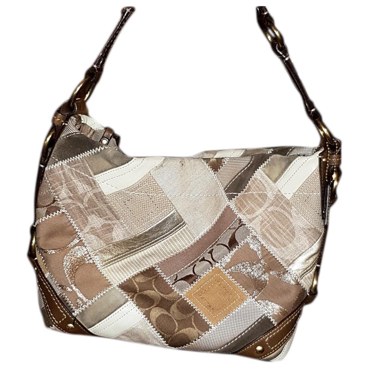 Coach \N Beige Cotton handbag for Women \N