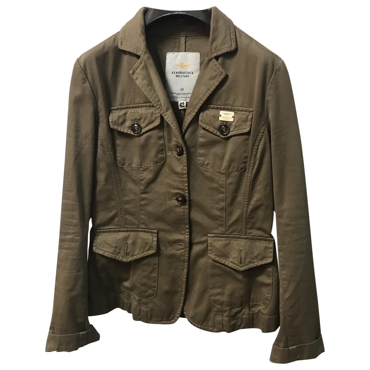 Non Signé / Unsigned \N Brown Cotton jacket for Women S International
