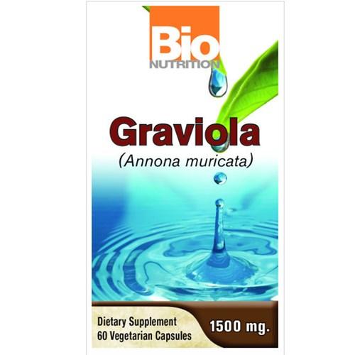 Graviola 60 Veg Caps by Bio Nutrition Inc