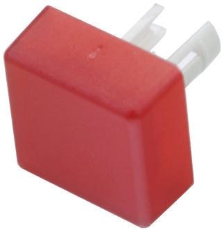 EAO Red Square Push Button Lens for use with 19 Series (5)