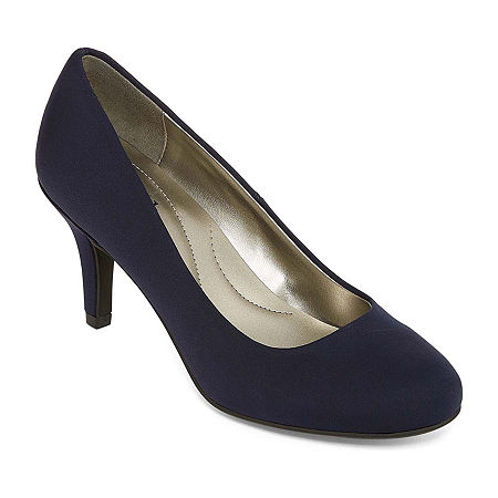 east 5th Womens Carolyn Pumps Stiletto Heel, 11 Wide, Blue
