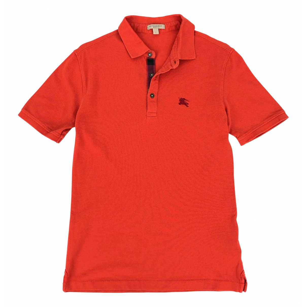 Burberry \N Poloshirts in  Orange Baumwolle
