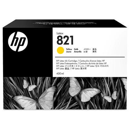 HP 821 G0Y88A Original Yellow Latex Ink Cartridge 400ml