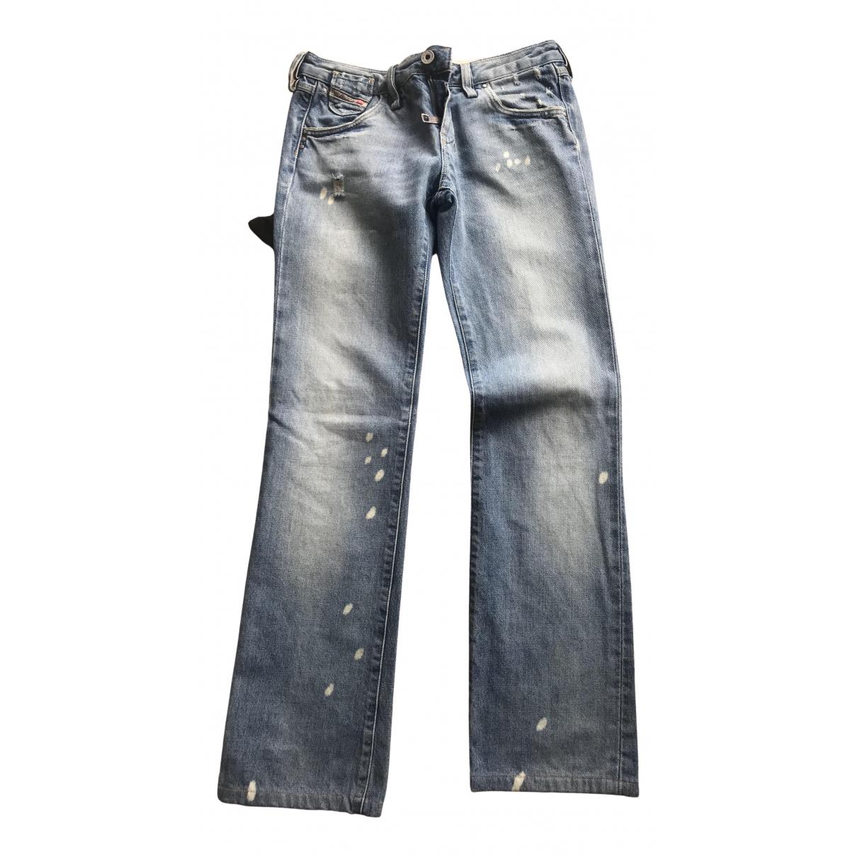 Diesel N Turquoise Denim - Jeans Jeans for Women 27 US