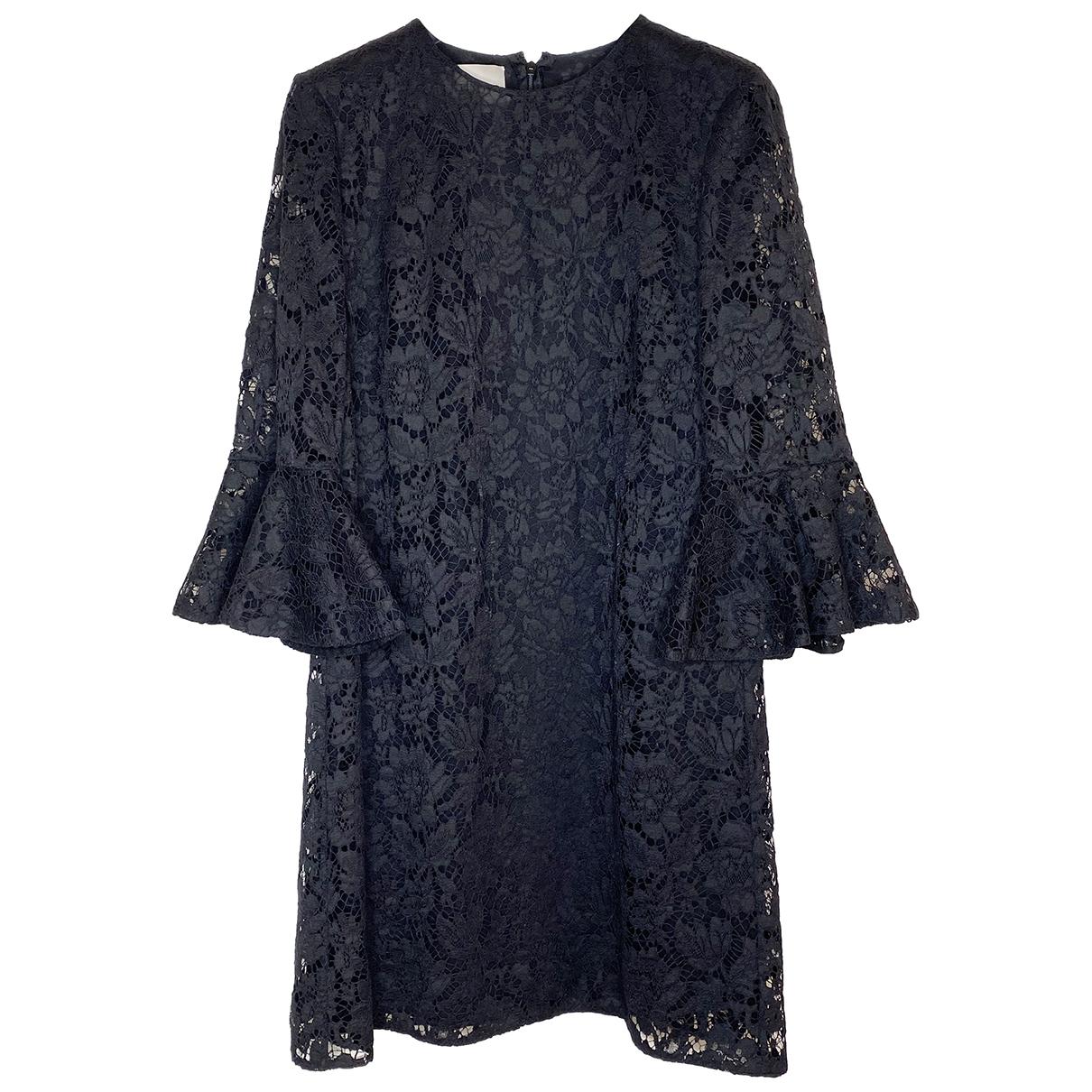 Valentino Garavani - Robe   pour femme en dentelle - noir