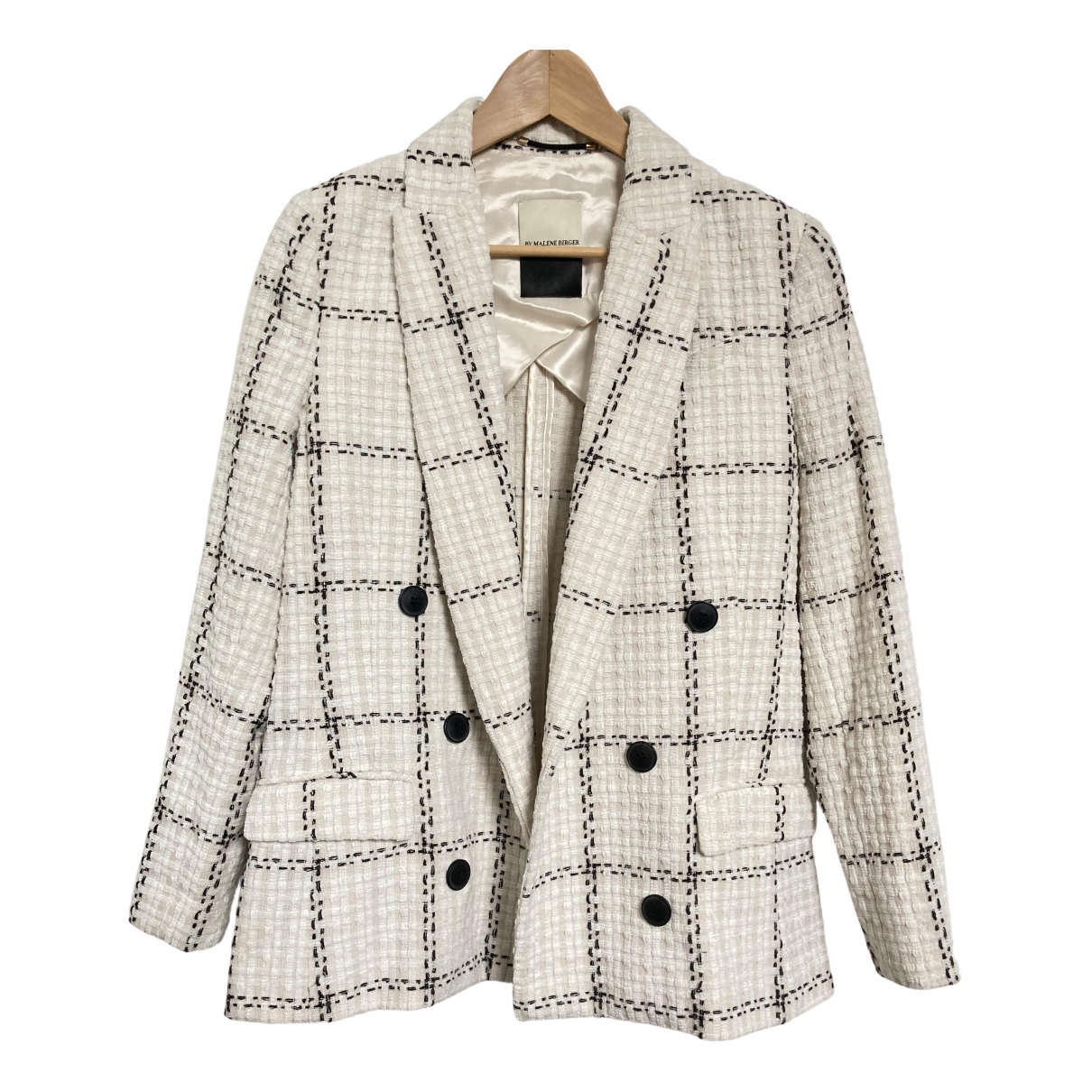 By Malene Birger \N Jacke in  Beige Polyester
