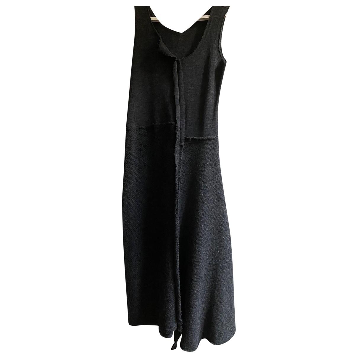 Maxi vestido de Lana Comme Des Garcons