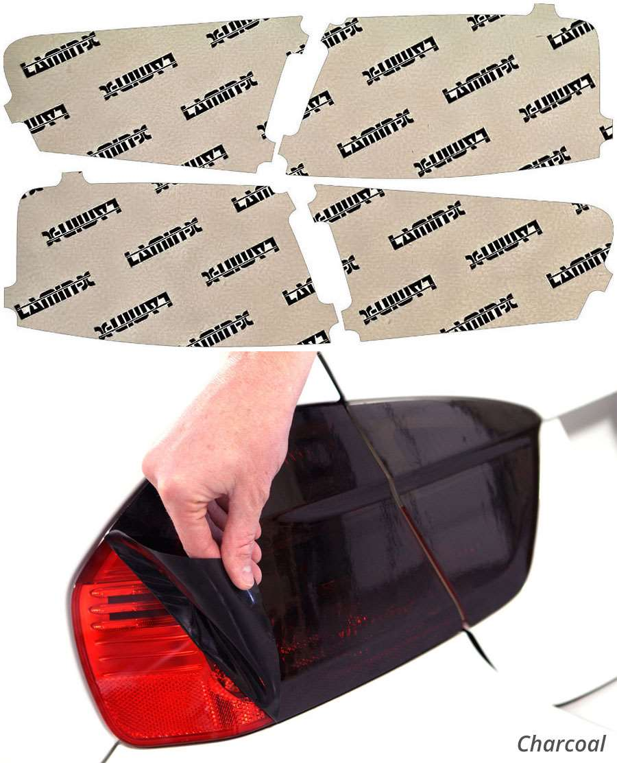 Audi S6 16-18 Charcoal Tail Light Covers Lamin-X A243C