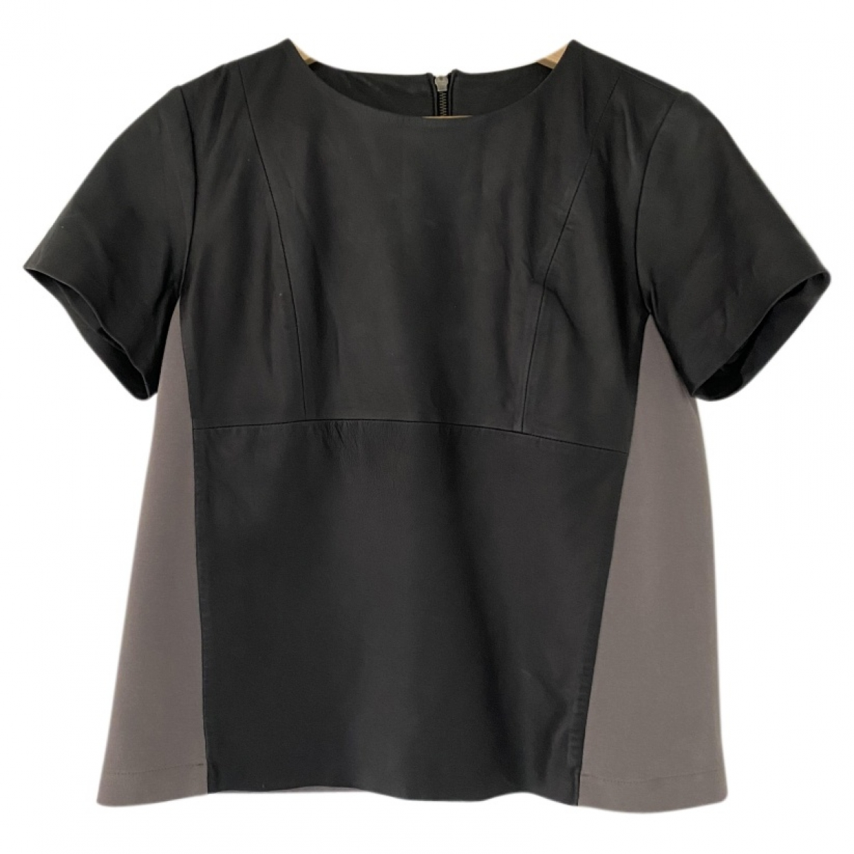 Just Female \N Black Leather  top for Women M International