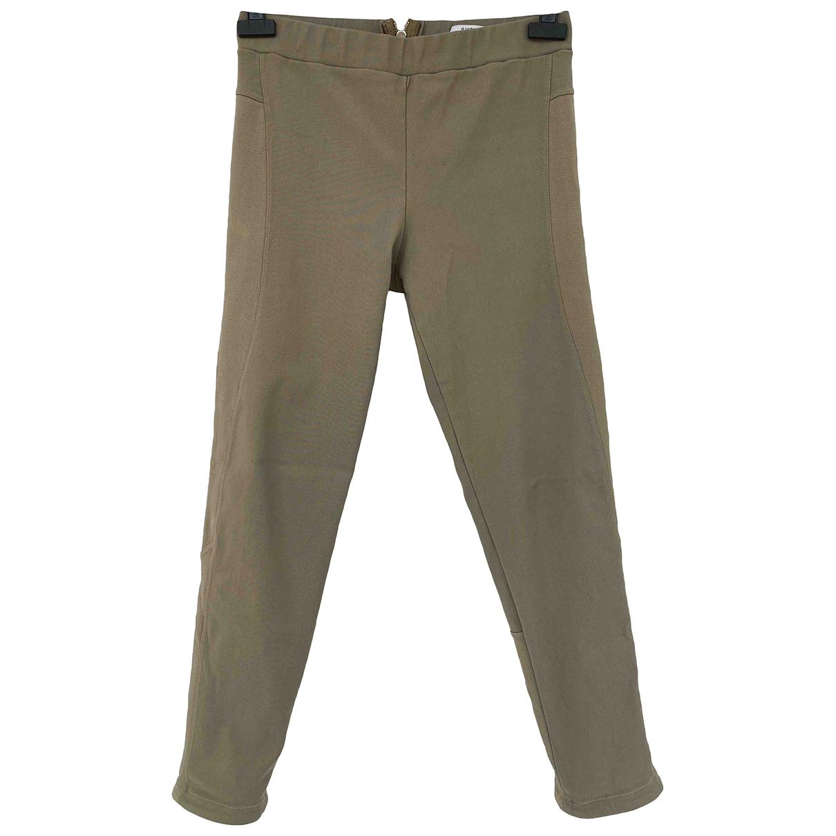 Givenchy - Pantalon   pour femme en coton - vert