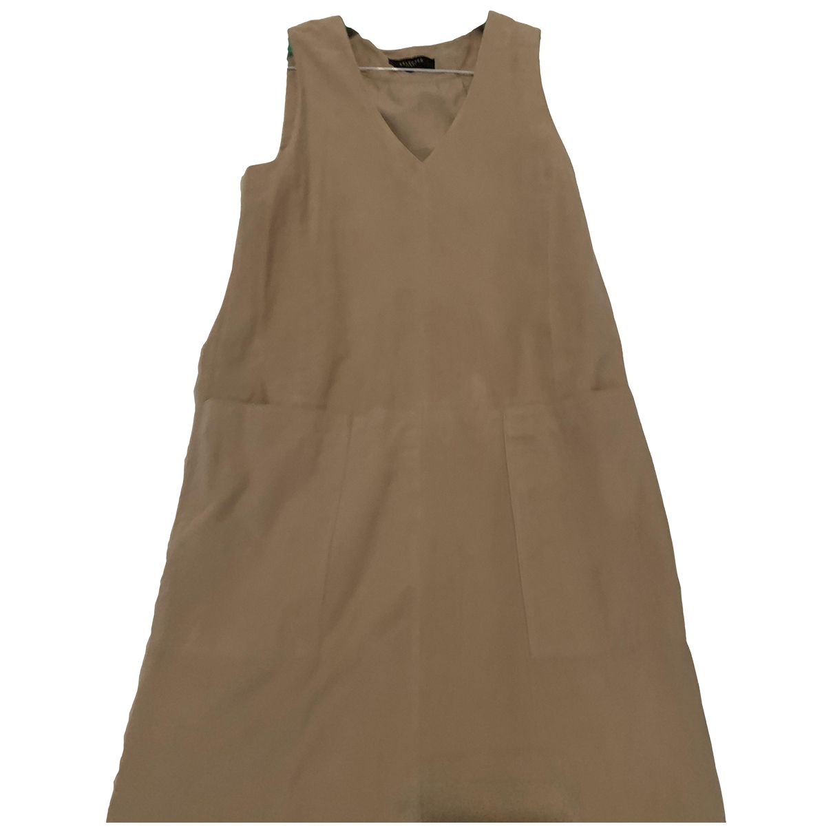 Selected \N Leather dress for Women 36 FR