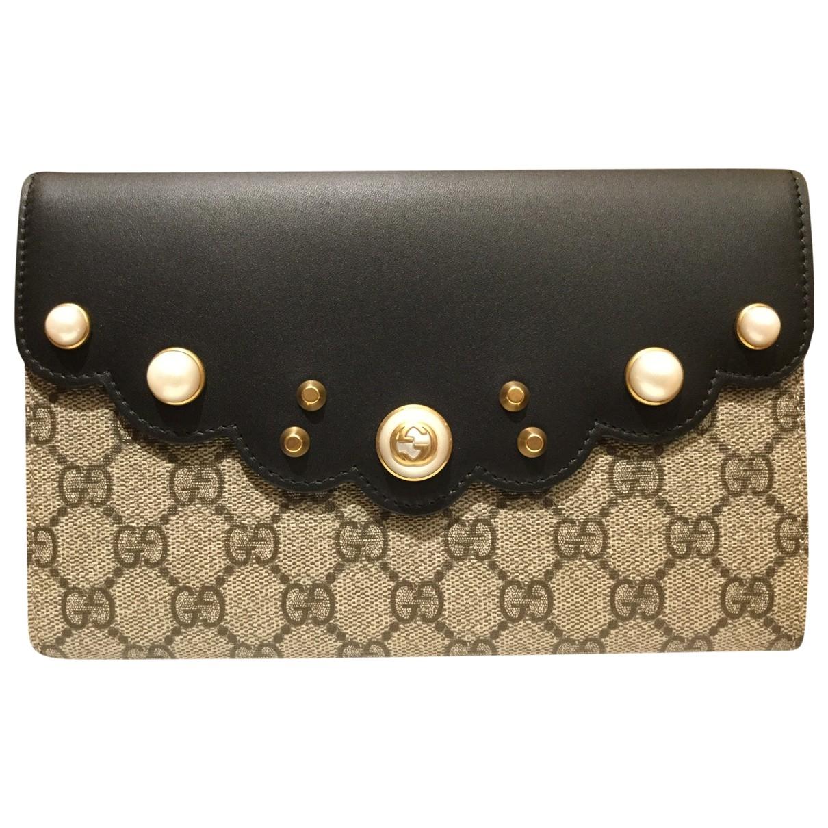 Gucci Peony Beige Cloth handbag for Women \N