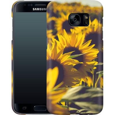 Samsung Galaxy S7 Smartphone Huelle - Sunflower 2 von Joy StClaire