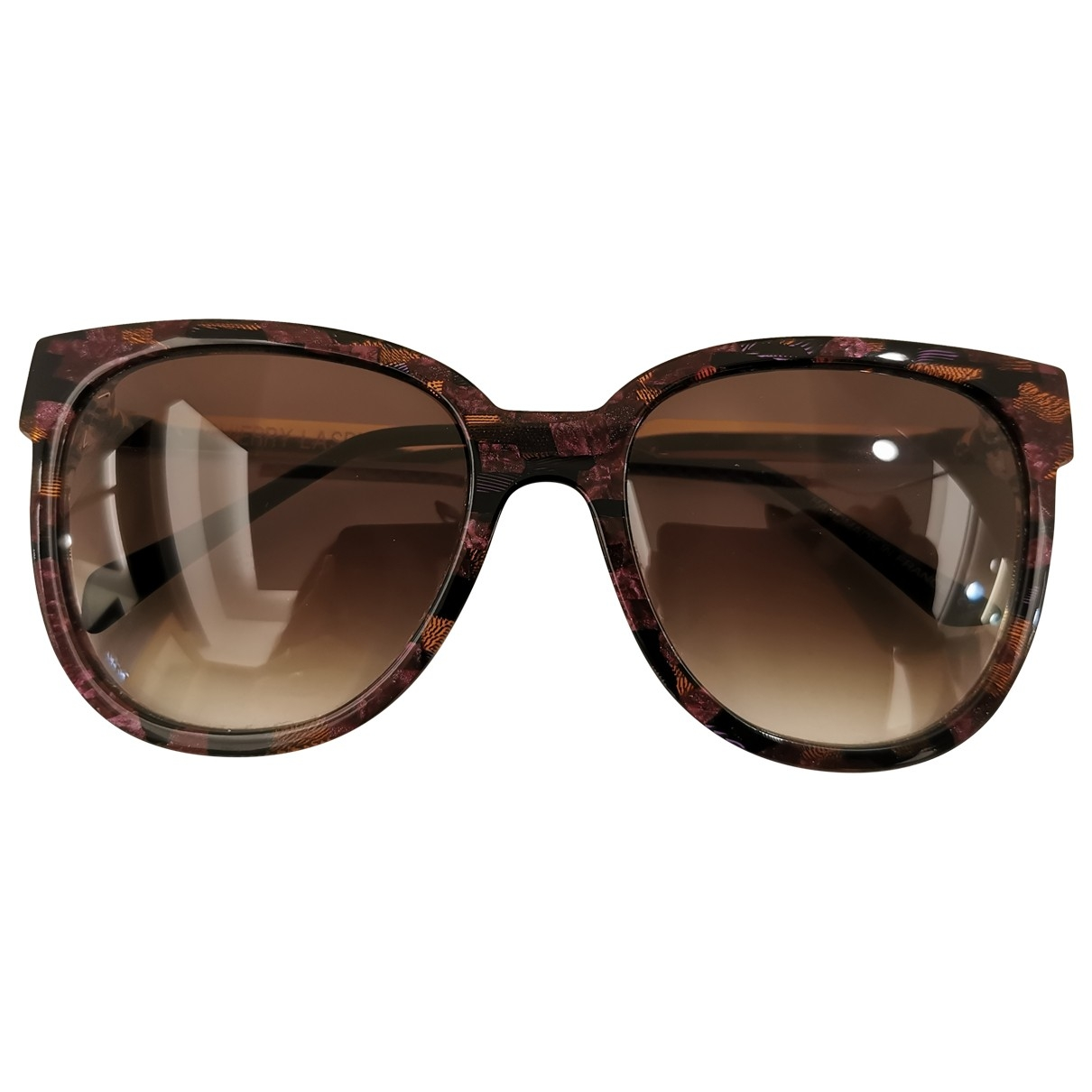 Thierry Lasry \N Sonnenbrillen in  Lila Kunststoff