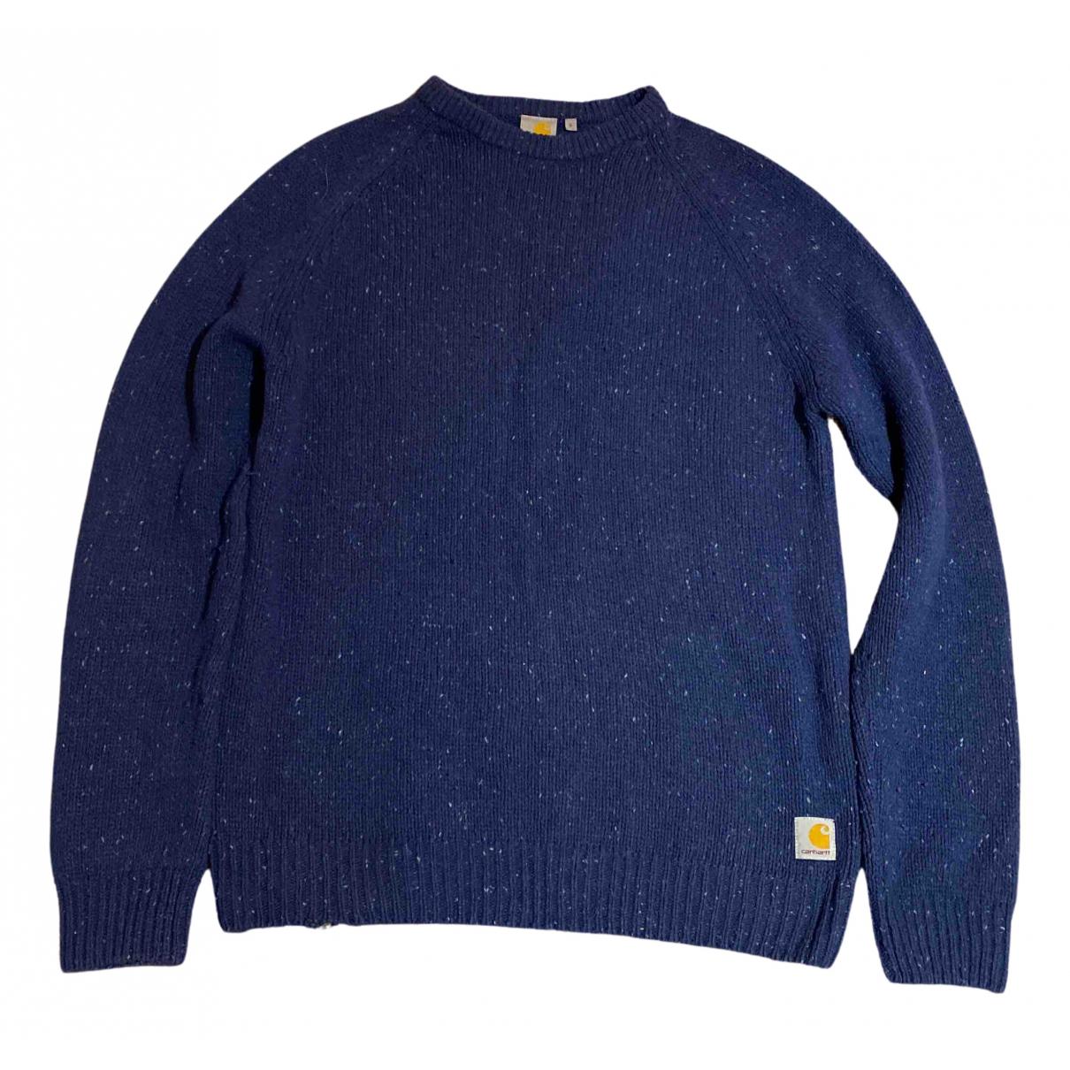 Carhartt N Blue Wool Knitwear & Sweatshirts for Men L International