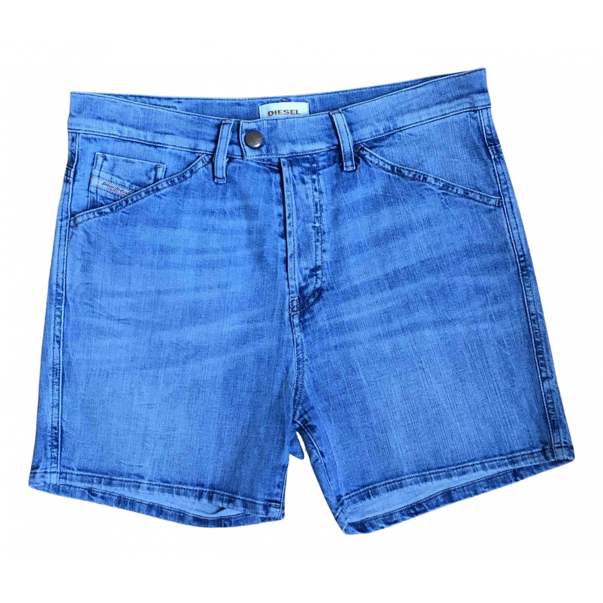 Diesel N Blue Denim - Jeans Shorts for Women 42 IT
