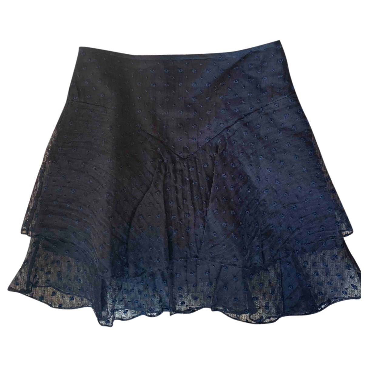 Isabel Marant N Black Silk skirt for Women 40 FR