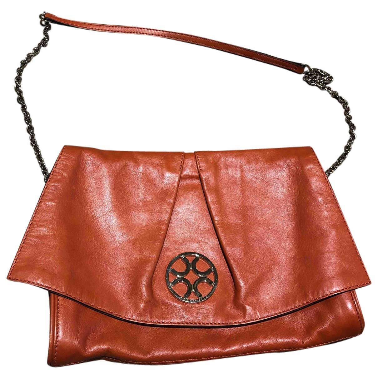 Coccinelle \N Orange Leather handbag for Women \N
