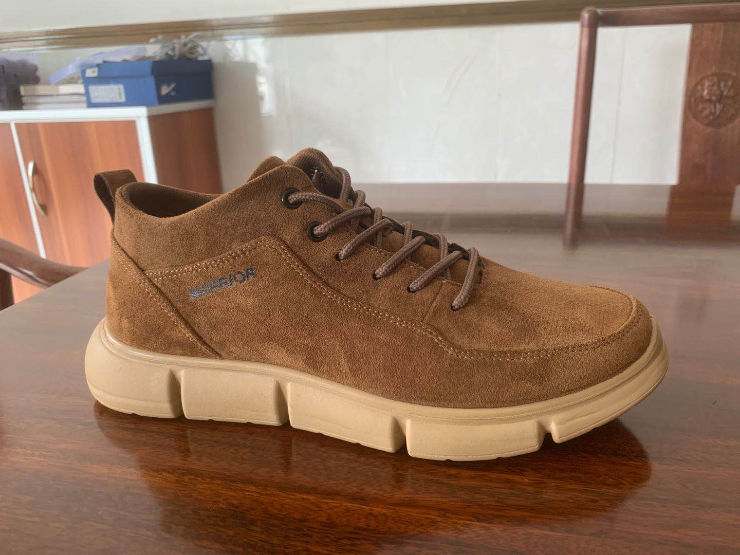 Men Suede Non Slip Wearable Comfy Casual Shoes