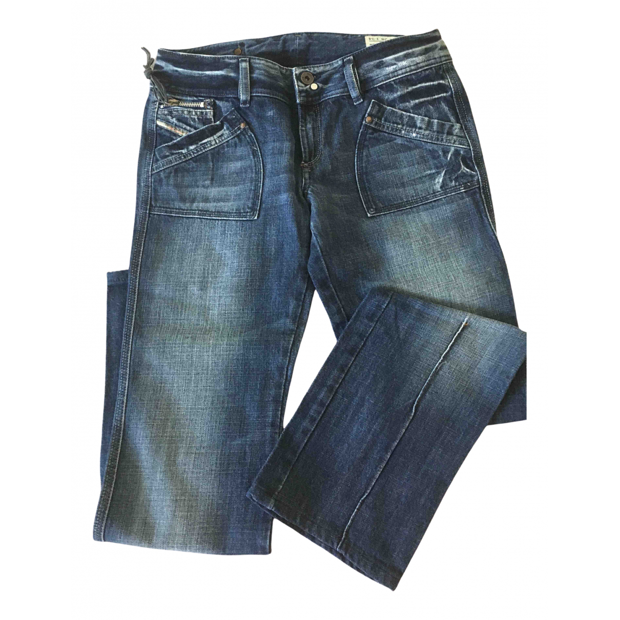 Diesel \N Blue Cotton Jeans for Women 28 US