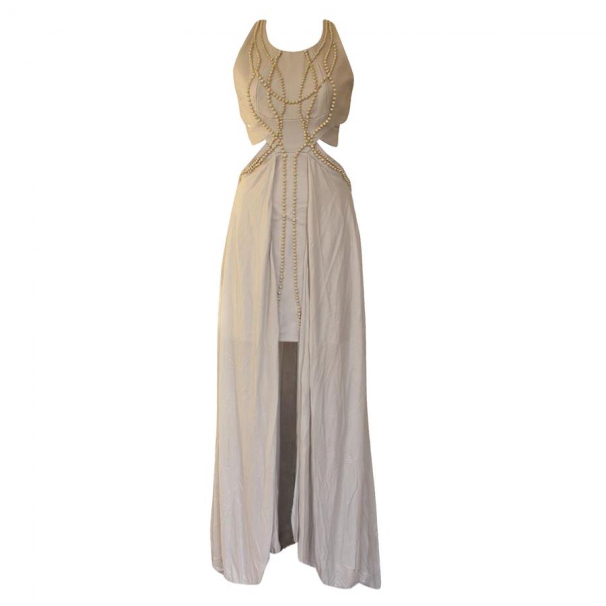 Jay Ahr \N Kleid in  Grau Viskose