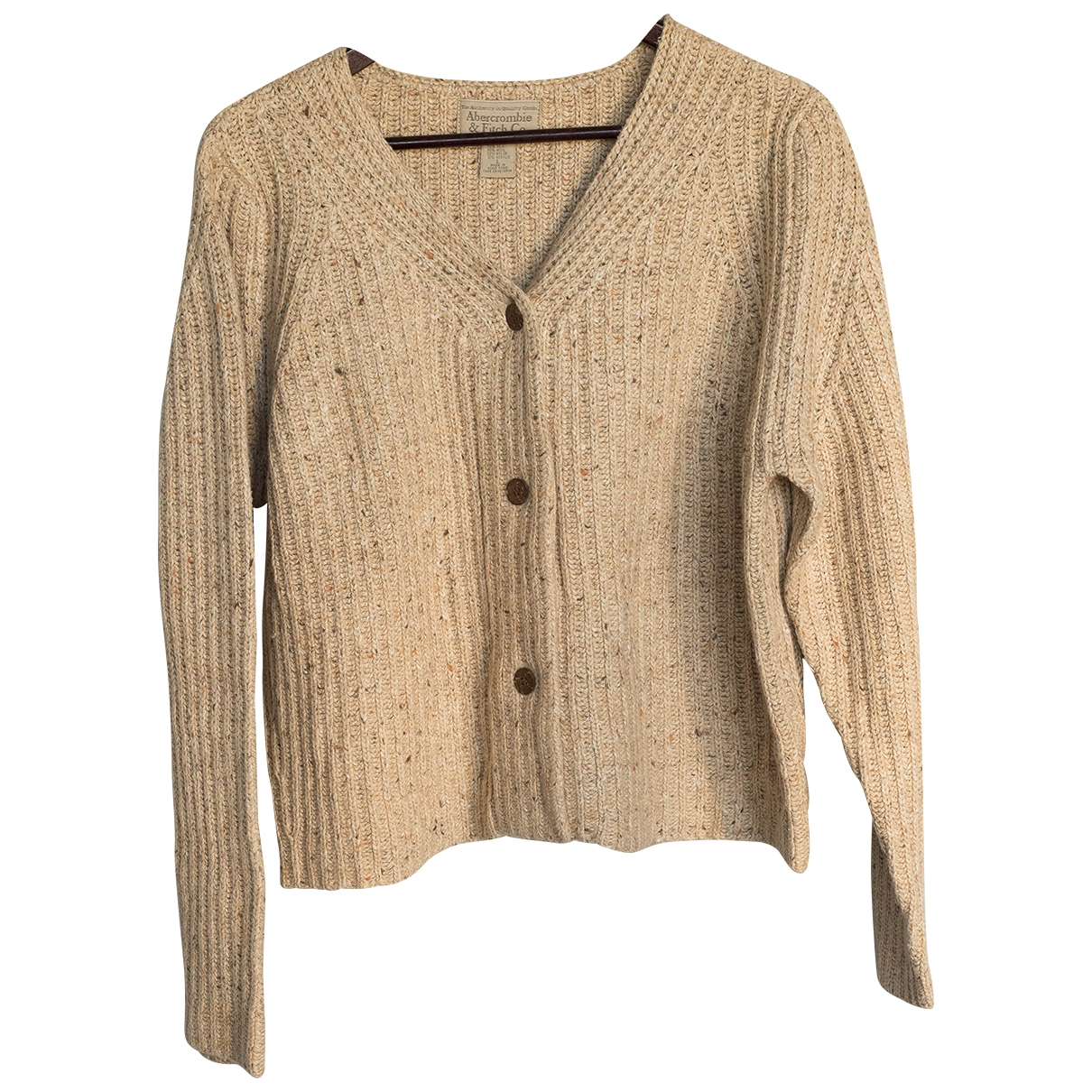 Abercrombie & Fitch \N Ecru Cotton Knitwear for Women L International