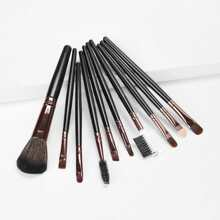 Weiche Make-Up Pinsel Set 10pcs