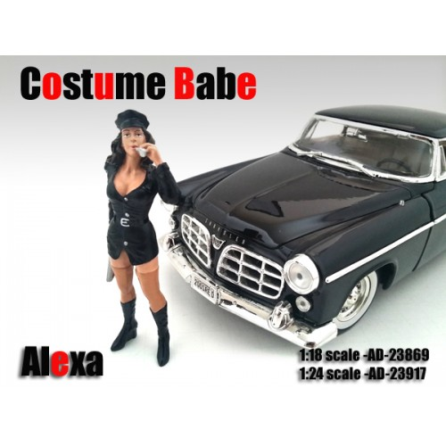 Costume Babe Alexa Figure For 118 Scale Models by American Diorama