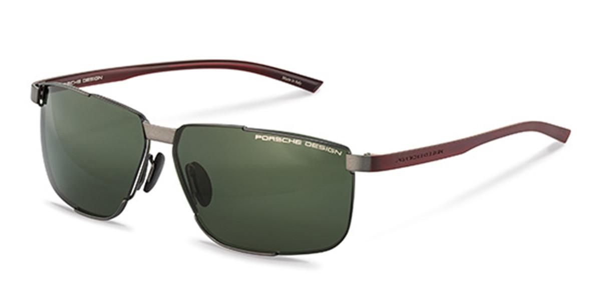 Porsche Design P8680 C Mens Sunglasses Grey Size 61