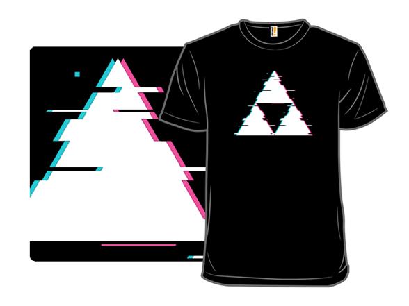 Glitch Triforce T Shirt