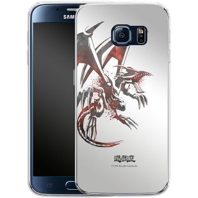 Samsung Galaxy S6 Silikon Handyhuelle - Red-Eyes B. Dragon von Yu-Gi-Oh!