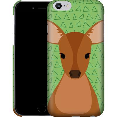 Apple iPhone 6 Plus Smartphone Huelle - Deer on Green von caseable Designs