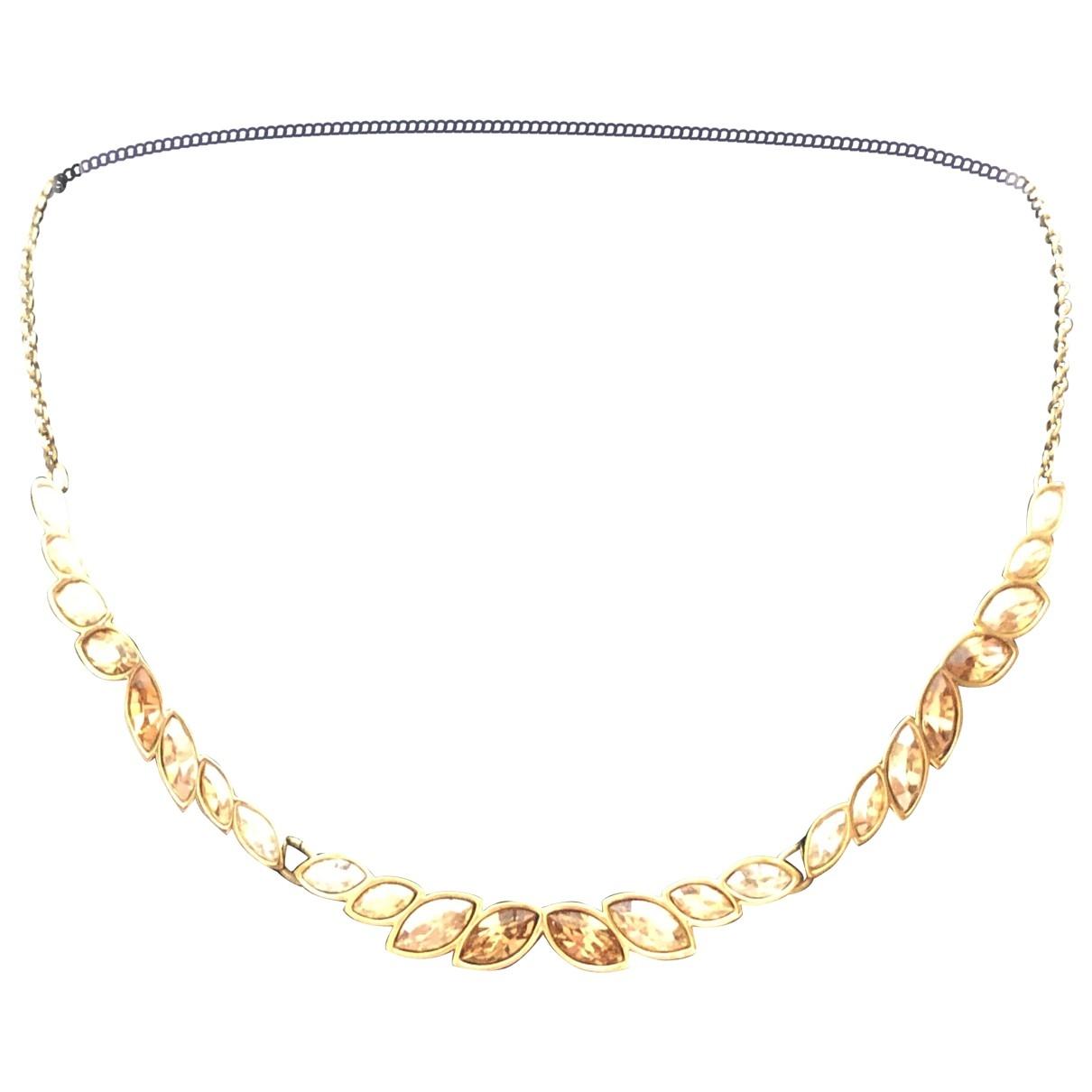 Swarovski \N Kette in  Gold Metall