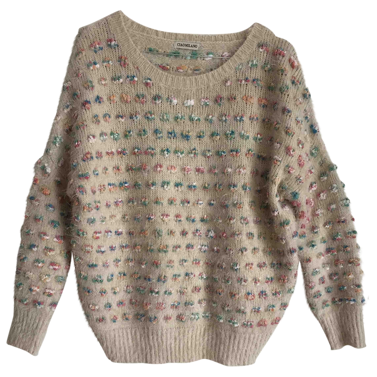 Non Signe / Unsigned \N Pullover in  Beige Synthetik