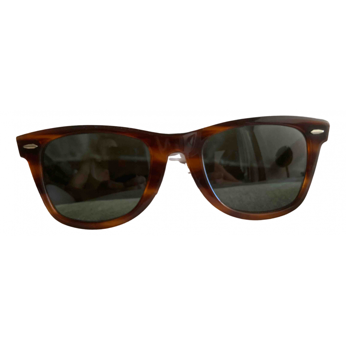Ray-ban New Wayfarer Brown Sunglasses for Men \N