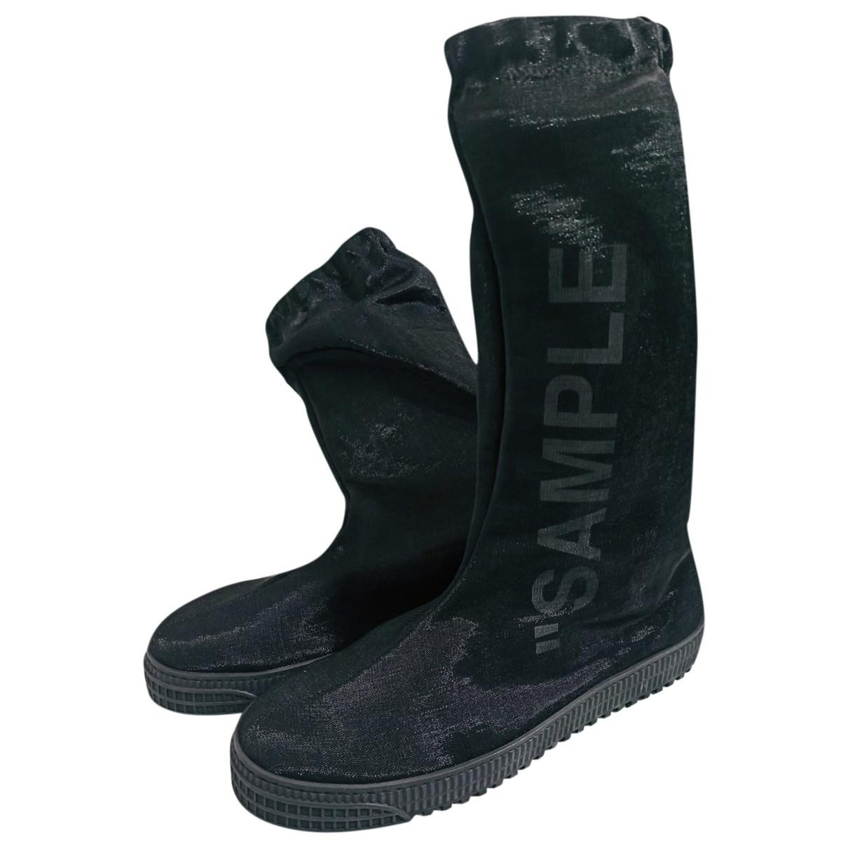 Off-white \N Black Boots for Men 8 UK
