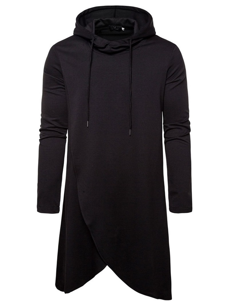 Ericdress Fashion Plain Pullover Men's Hoodies