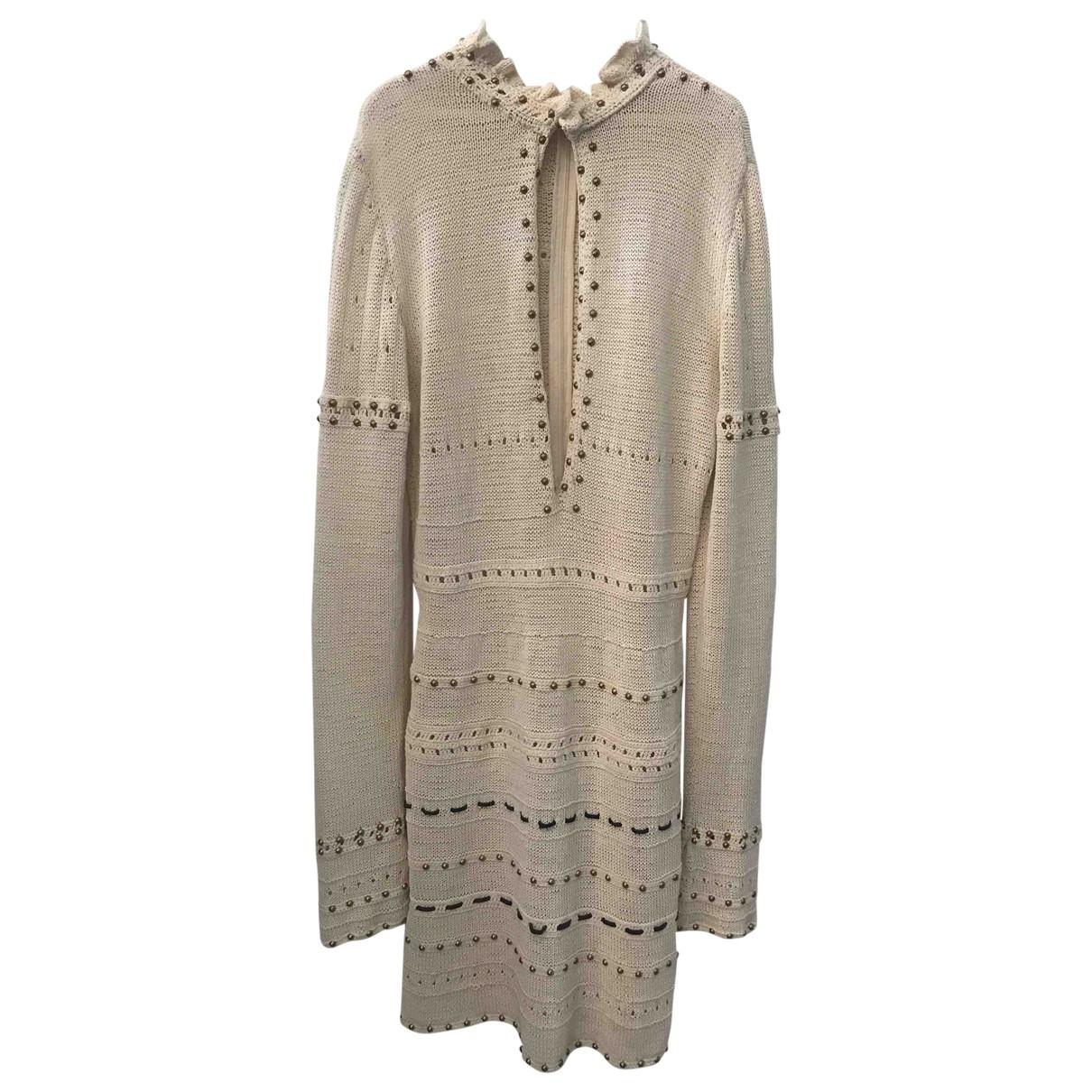 Magda Butrym - Robe   pour femme en coton - beige