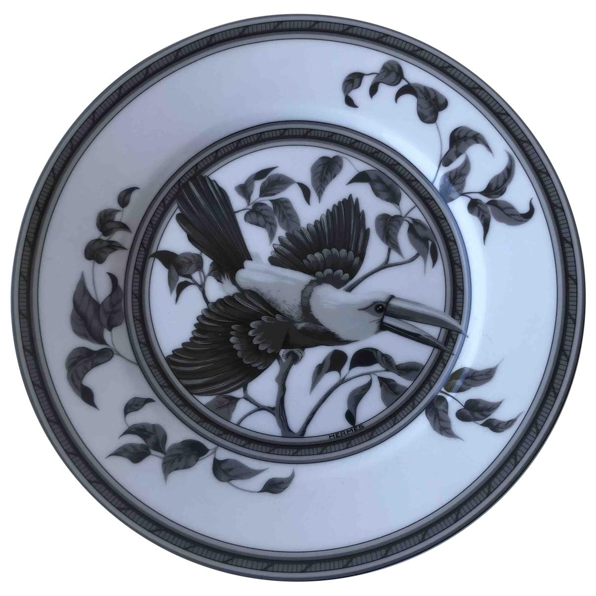 Hermes - Arts de la table Toucans pour lifestyle en ceramique - multicolore