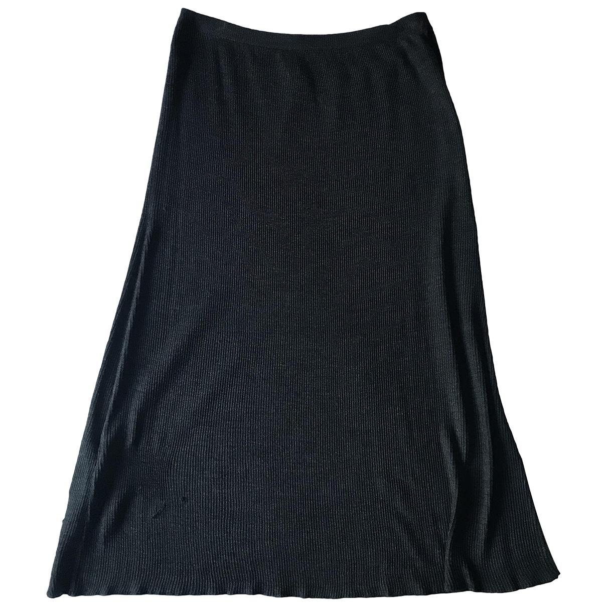 Prada - Jupe   pour femme en soie - gris