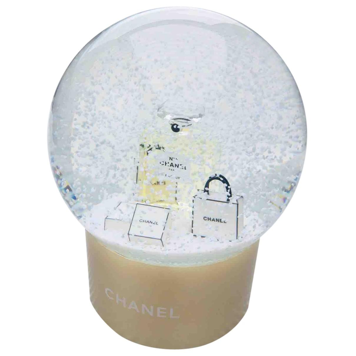 Chanel \N Accessoires und Dekoration in  Gold Glas