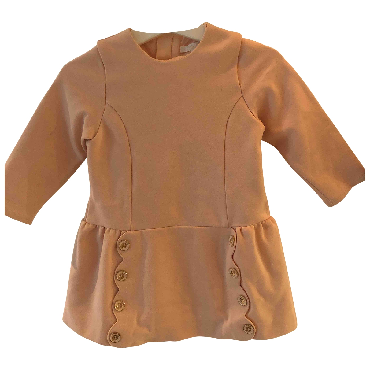 Chloé \N Pink Cotton - elasthane dress for Kids 18 years - L FR