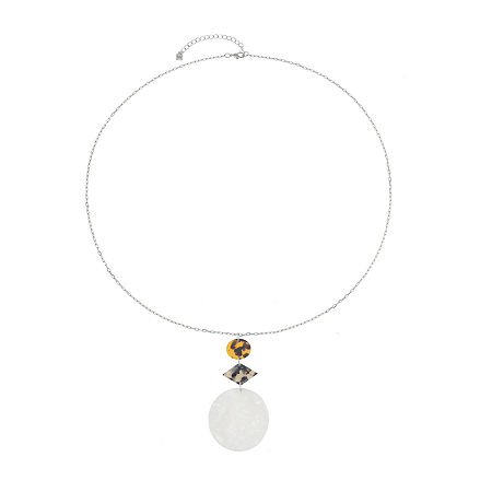 Worthington Resin 32 Inch Cable Pendant Necklace, One Size , Multiple Colors